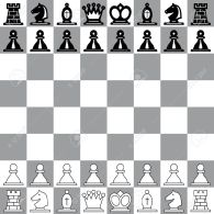 12770599-The-starting-position-on-the-chessboard-Stock-Vector-chess